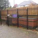Security Metal Railings