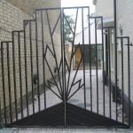 Art Deco Driveway Gates