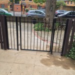 Pedestrian Metal Gate