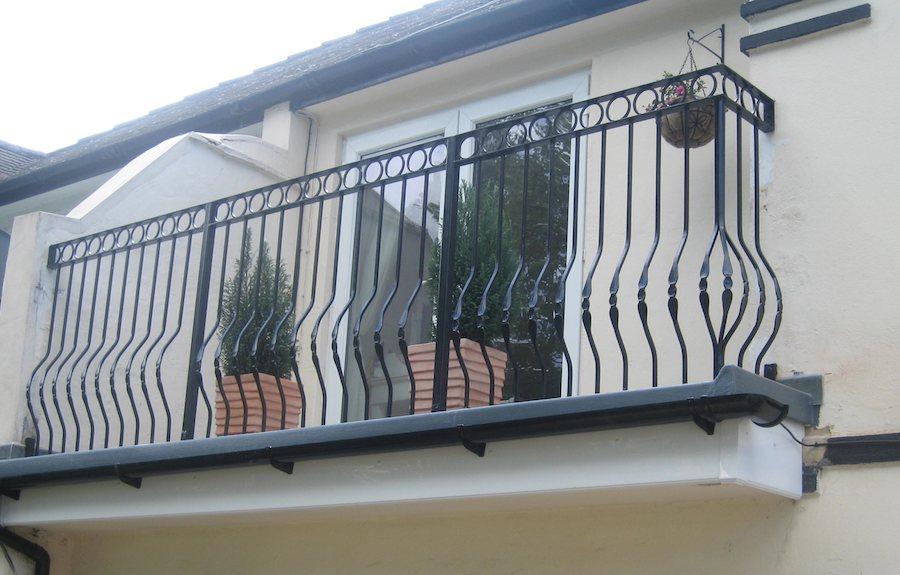 Balconies Amp Art Deco Steel Makers