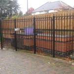 Security Metal Railings