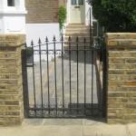 Pedestrian Metal Gate