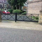 Security Metal Gate