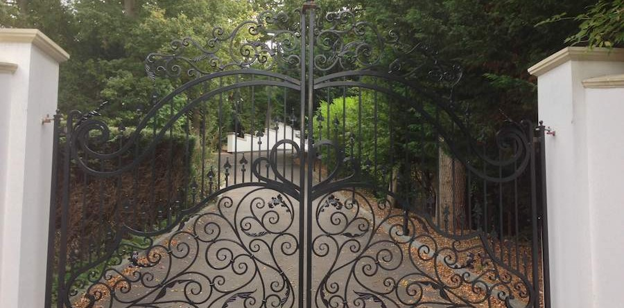 Wrought Iron Gates in London